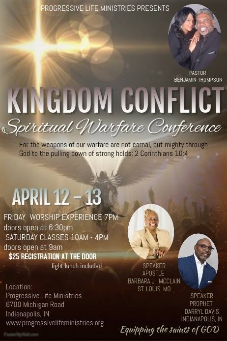 Kingdom Conflict: Spiritual Warfare Conference