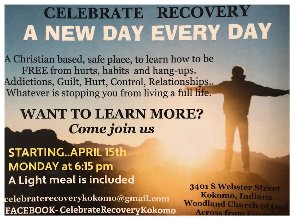 Celebrate Recovery – April 2019