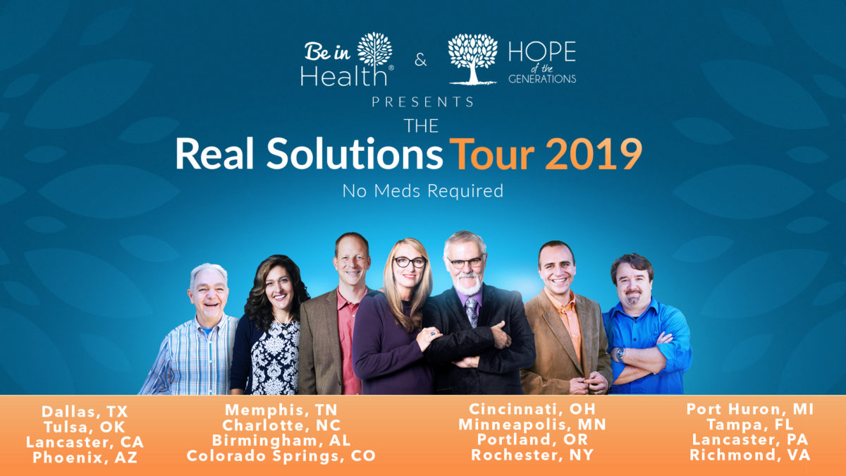 Be in Health Real Solutions Tour 2019