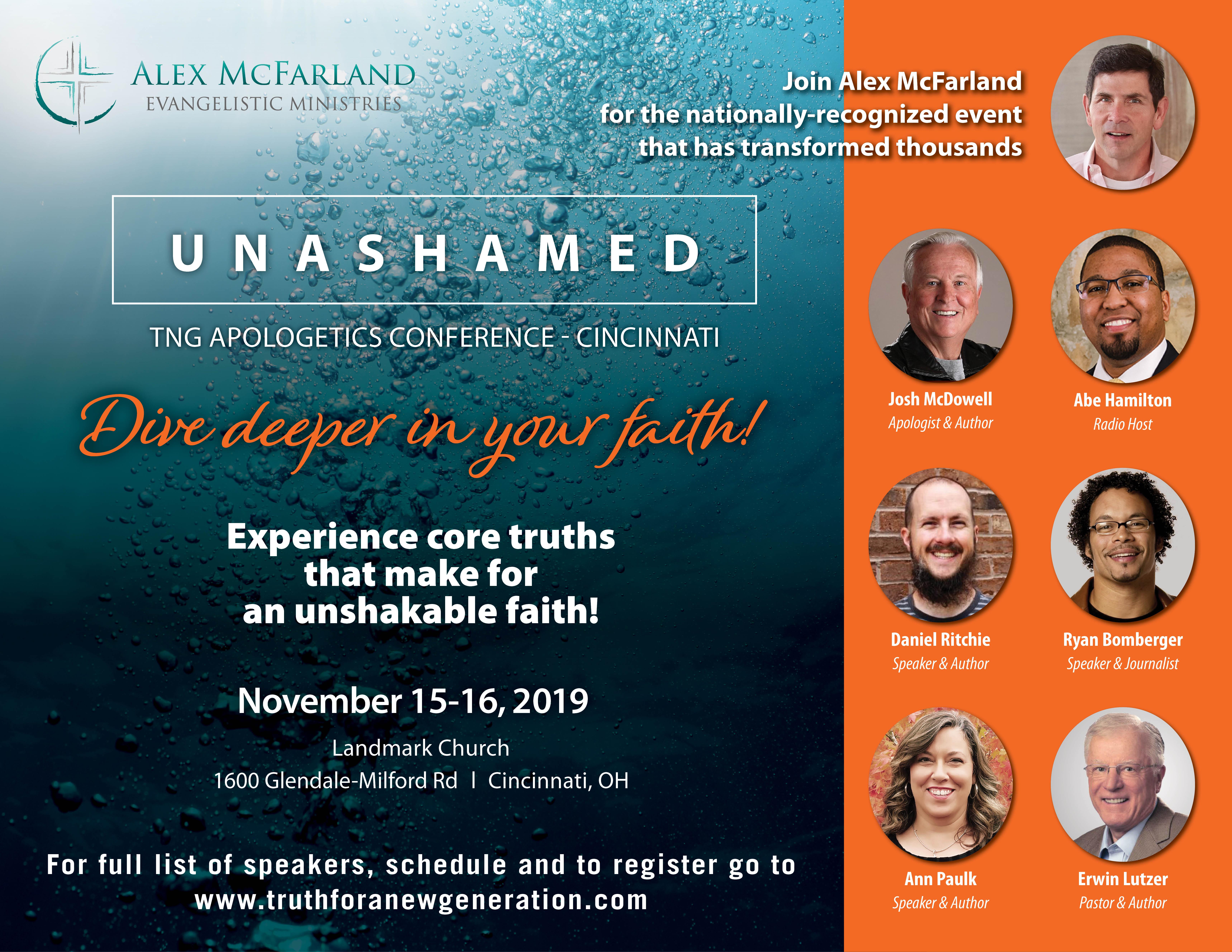 Unashamed 2019